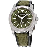 Men's Citizen Eco-Drive Promaster Tough Military Green Watch BN0211-09X