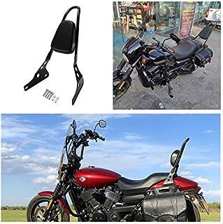 Customacces AZ1255N Respaldo Estilo Vintage Negro Harley Davidson Sportster Superlow XL883L 04-14