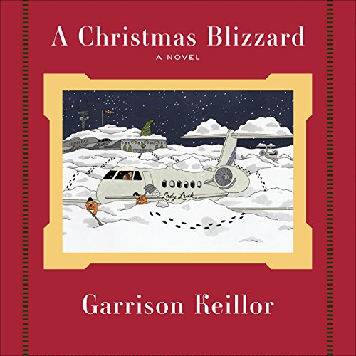 A Christmas Blizzard audiobook cover art