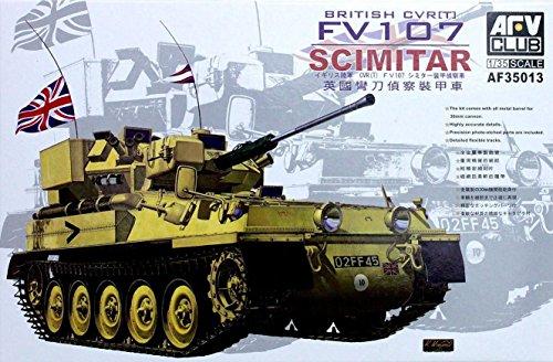 CVRT FV107 Scimitar Tank 1-35 AFV Club