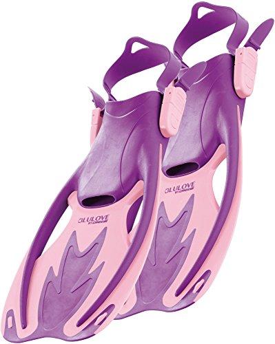 Cressi Kid's Rocks Snorkeling Fins, Rose/Lilac, L/XL