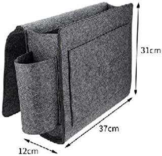 ALHZ Bett Aufbewahrungstasche Tasche Filz Nachttisch H/ängetisch Sofa Schlafzimmer Organizer-Z3