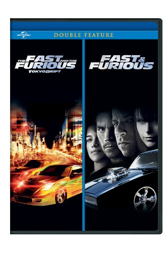 The Fast and the Furious: Tokyo Drift / Fast & Furious (2009) Double Feature [DVD]