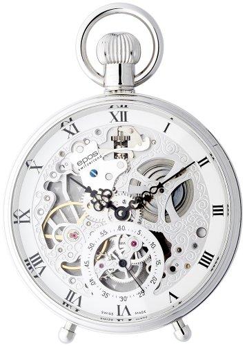 [エポス]EPOS 腕時計 ポケット PP ユニタス6497 WH-RM/DL 2166R 懐中時計 手巻 [正規輸入品]