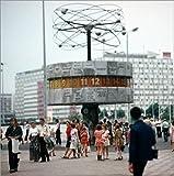 Posterlounge Cuadro de PVC 40 x 40 cm: GDR - World Clock 1978 de Klaus Morgenstern/ddrbildarchiv.de