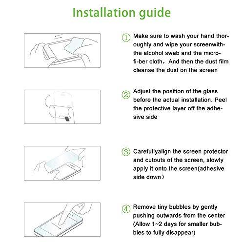 Janmitta für Samsung Galaxy Tab S6 Lite Panzerglas Schutzfolie [2-Stück], 2.5D Panzerfolie 9H Gehärtetem Glass [Anti-Kratzen][Anti-Bläschen] HD Displayschutzfolie mit Samsung Galaxy Tab S6 Lite