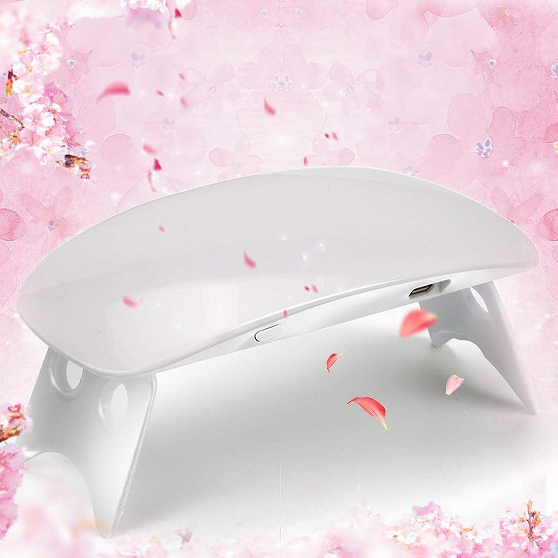 軽減インキュバスデクリメントTwinkle Store 6W ホワイト ネイルドライヤー ネイルデザイン ネイルライト 硬化用ライト ネイルアートツール