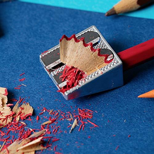 Mr. Pen Handheld Metal Pencil Sharpener with 2 Holes, Pack of 6 Photo #7