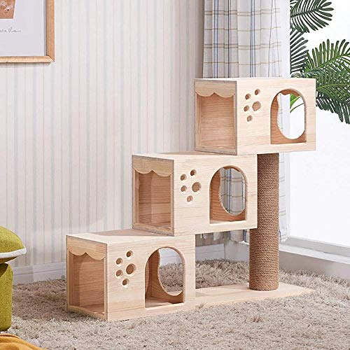 Cat Tree Cat Post van Sisal Cat Tower met kattenboom krabpaal voor katten Cat Toy
