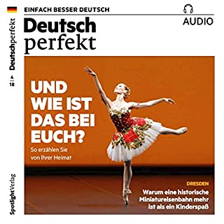 Deutsch perfekt Audio. 4/2018 audiobook cover art