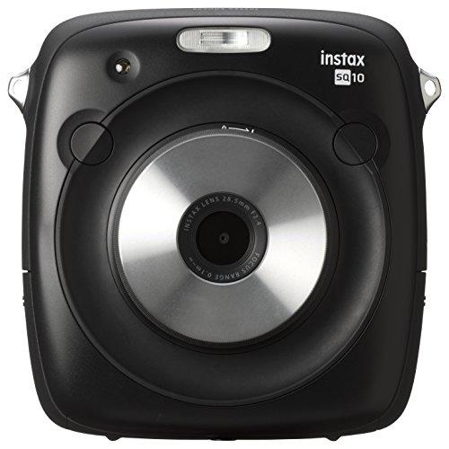 FUJIFILM ハイブリッドチェキSQ10 インスタントカメラ ブラック instax SQUARE SQ10 INS SQUARE SQ 10