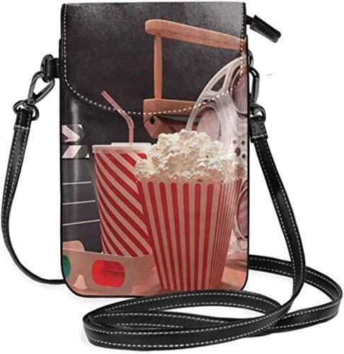 Petit sac à main pour femme - Style vintage - Affiche de cinéma - Effet grunge et icônes anciennes