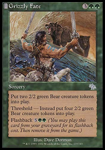 Magic: the Gathering - Grizzly Fate - Judgment