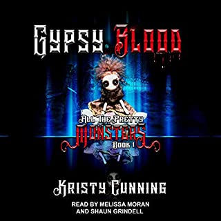 Gypsy Blood audiobook cover art