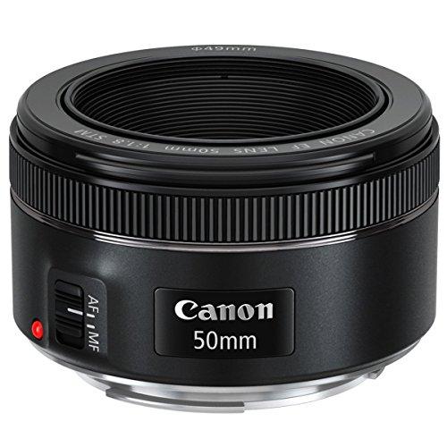 Canon 0570C005 - EF50F1.8STM - EF 50mm f1.8 STM Lens