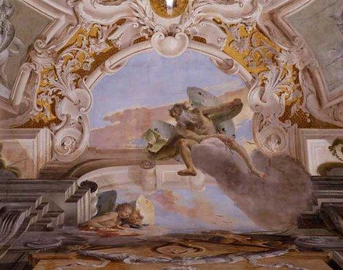 Kunst für Alle Impresión artística/Póster: Giovanni Battista Tiepolo G B Tiepolo Wind Gods PAL Lavia - Impresión, Foto, póster artístico, 90x70 cm