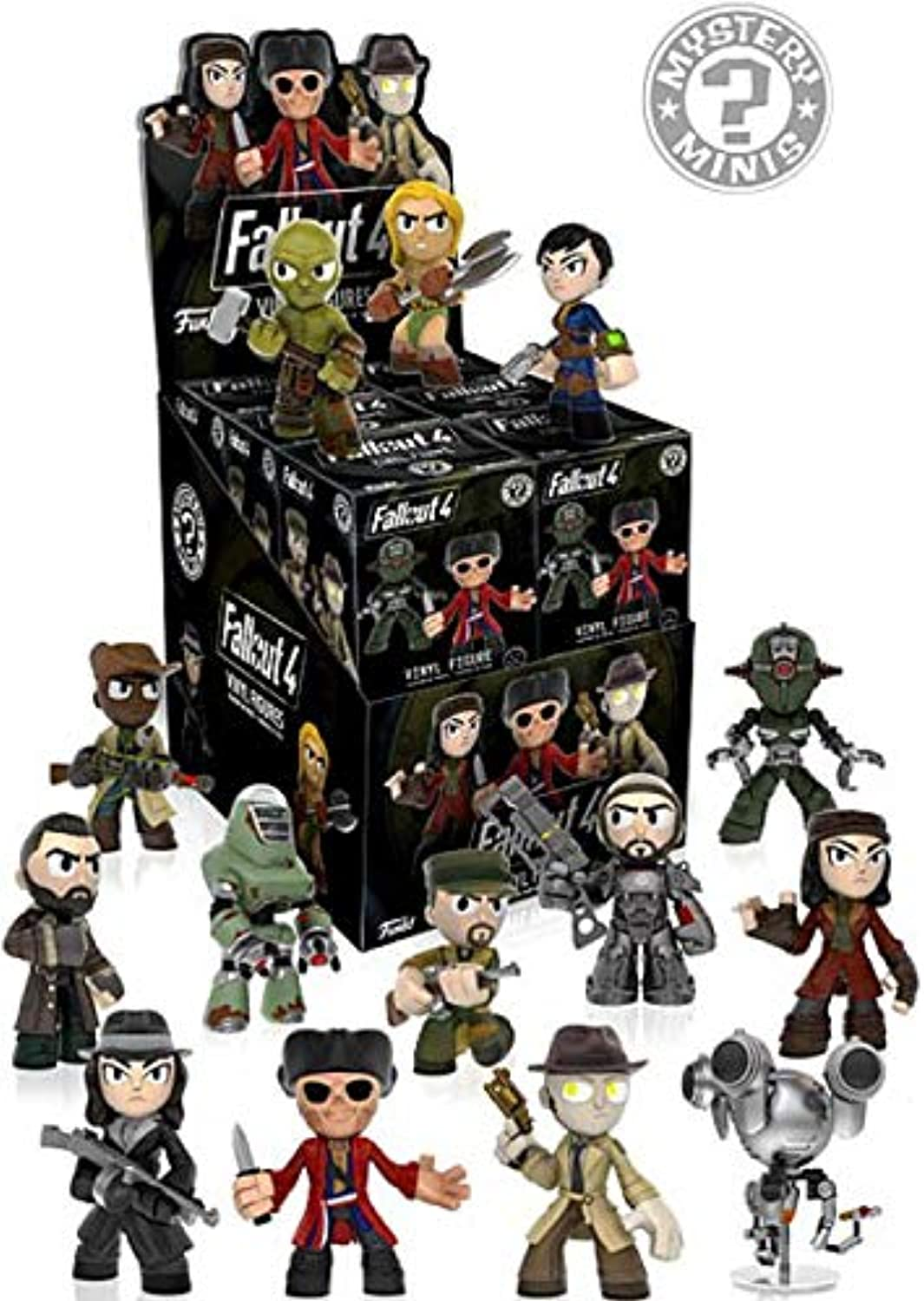 Fallout 4 Mystery Minis Vinyl Figures Set of 12