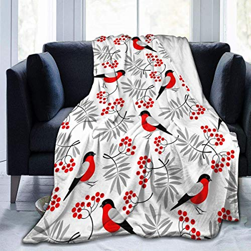July vogel vogel flanel superzachte warme deken voor alle seizoenen licht voor woonkamer slaapkamer