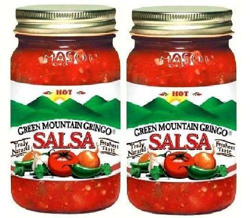 Green Mountain Gringo Salsa Hot (Pack of 2)