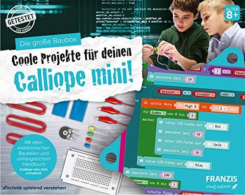 Franzis 67034 Experimentierkasten Coole Projekte für deinen Calliope Mini, Brown