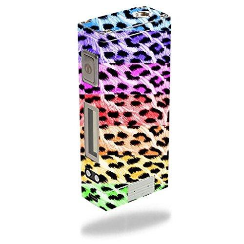 Innokin iTaste MVP 3.0 Vape E-Cig Mod Box Vinyl DECAL STICKER Skin Wrap / Multi Color Leopard Print