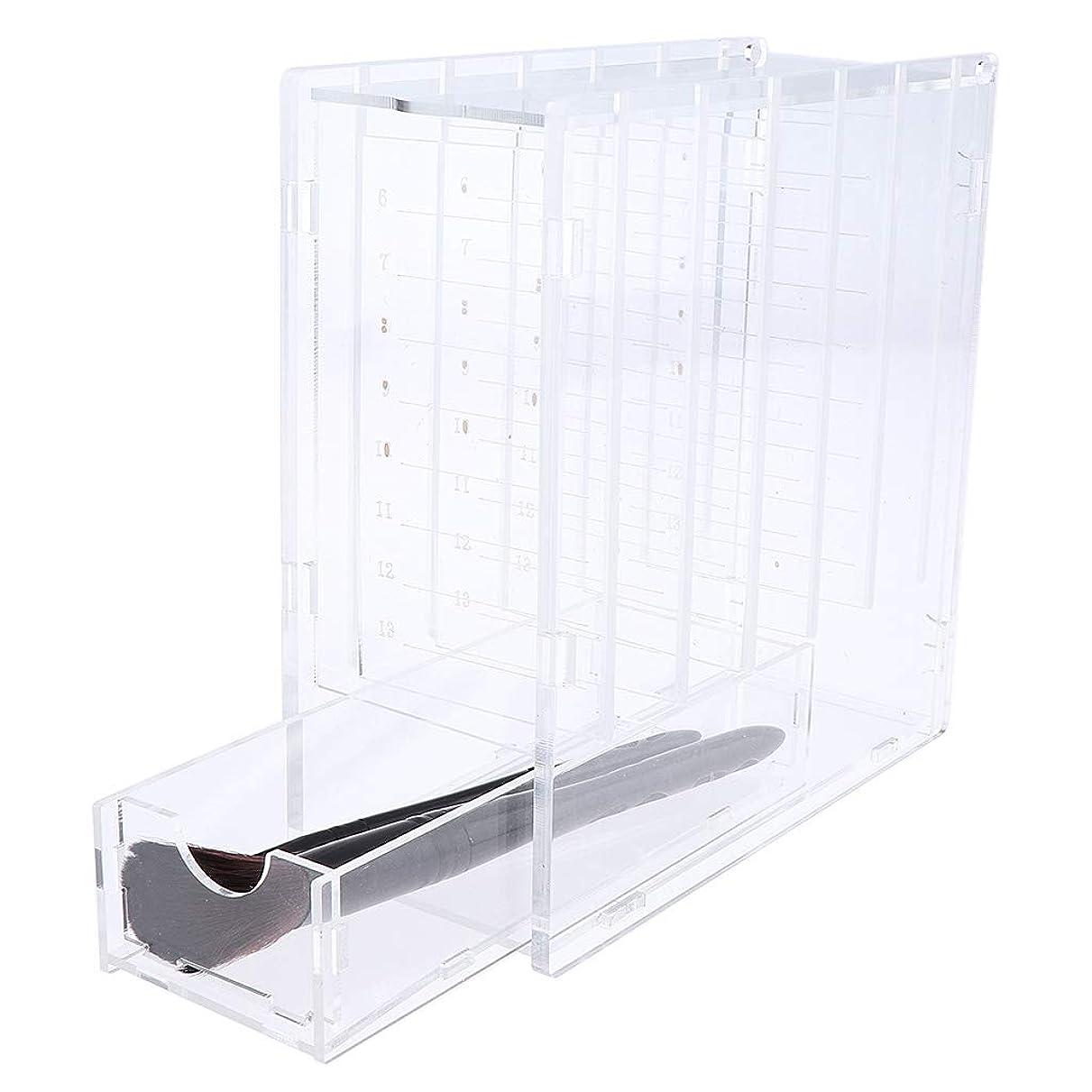 椅子家事コーンウォールP Prettyia まつげ収納ボックス 6層 つけまつげ 収納ケース メイクアップ アイメイク