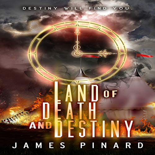 Land of Death and Destiny audiobook cover art