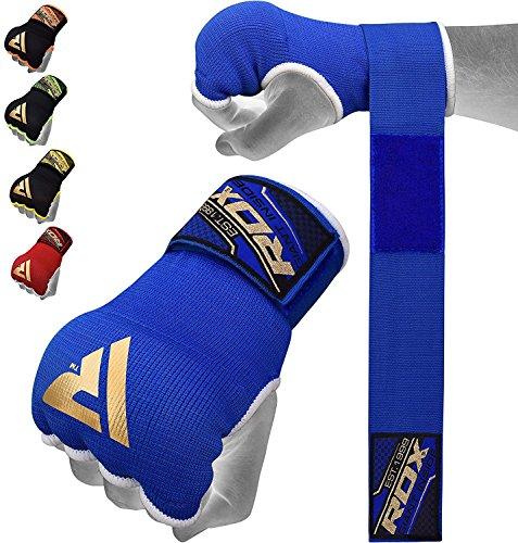 RDX Fasce Boxe Bende Guanti Interi per Mani Polsi Elastiche Pugilato Bendaggi MMA Sottoguanti