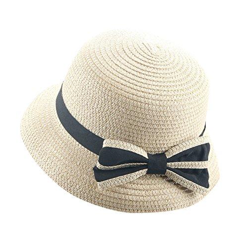 pingtr Sombrero del bebé niña y niño,Sombrero de Paja el Verano Playa de la Boda Fiesta Sombrero Sol del Gorra del Pescador Bebe del Vaquero