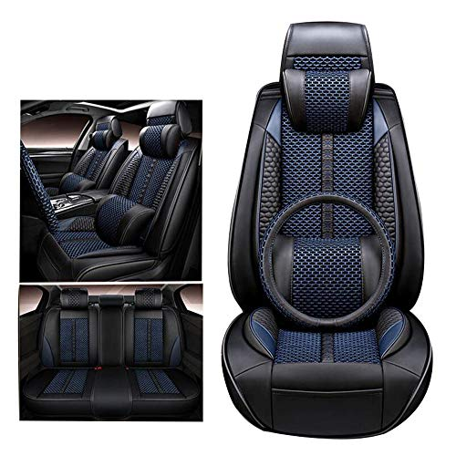 QCZD88 Funda de Asiento de Carro Compatible con Suzuki Grand Vitara, JIMNY, Kizashi,Azul,GRANDVITARA