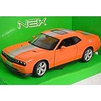 ノーブランド品 Dodge Challenger SRT Orange 1/24 WELLY [並行輸入品]