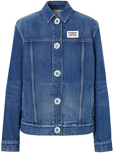 BURBERRY Luxury Fashion Damen 8025250 Blau Jacke |