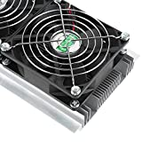 Wosune Enfriador de semiconductores, Alta eficiencia, excelente Efecto, Kits de Bricolaje de refrigeración ampliamente utilizados, Estable Estable con semiconductores para frigoríficos pequeños