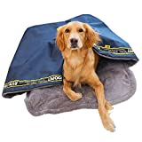 soundwinds - Saco de Dormir para Mascotas, diseño de Cueva de Felpa, Plegable, para Invierno, Suave, cálido, para Perros pequeños, medianos y Grandes