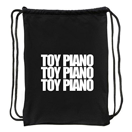 Eddany Toy Piano Three Words Turnbeutel