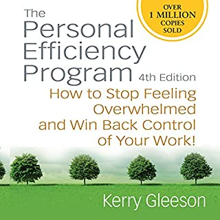 Personal Efficiency Program audiobook cover art