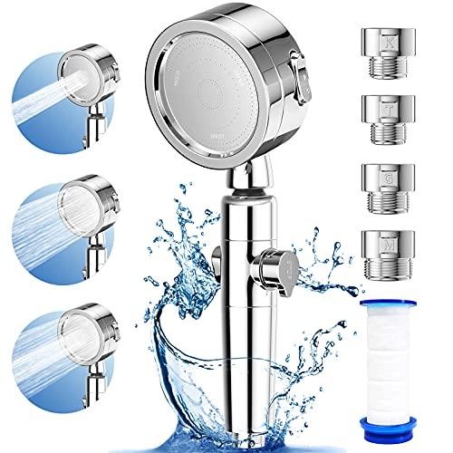 シャワーヘッド 増圧 80%節水