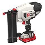 PORTER-CABLE PCC790LA 20V MAX Lithium 18GA Cordless Brad Nailer Kit, Includes Battery