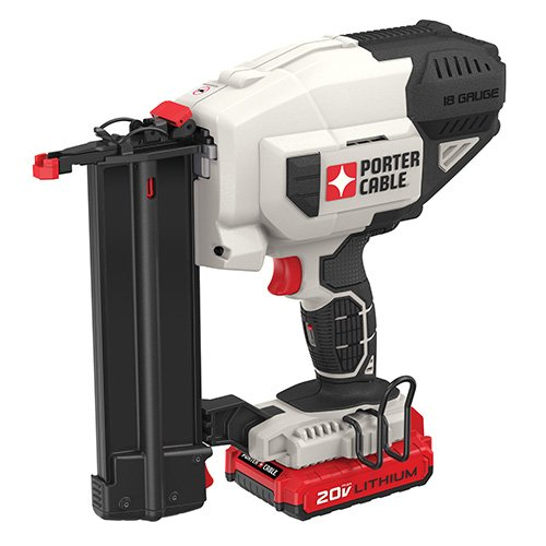 PORTER-CABLE 20V MAX Cordless Brad Nailer Kit,...