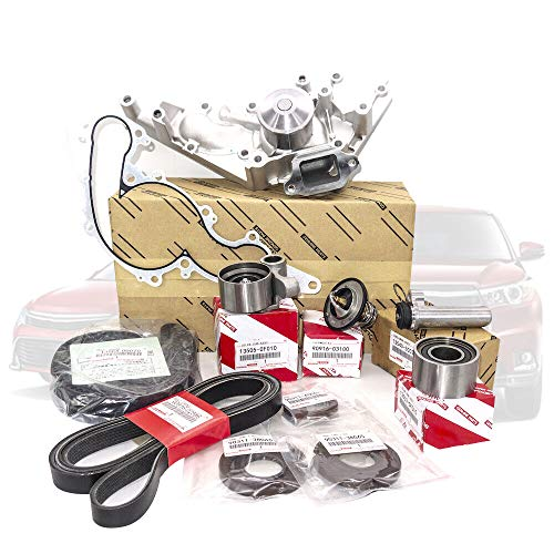 Timing Belt & Water Pump Kit V8 4.7 Replacement for T-OYOTA 4R-unner T-undra