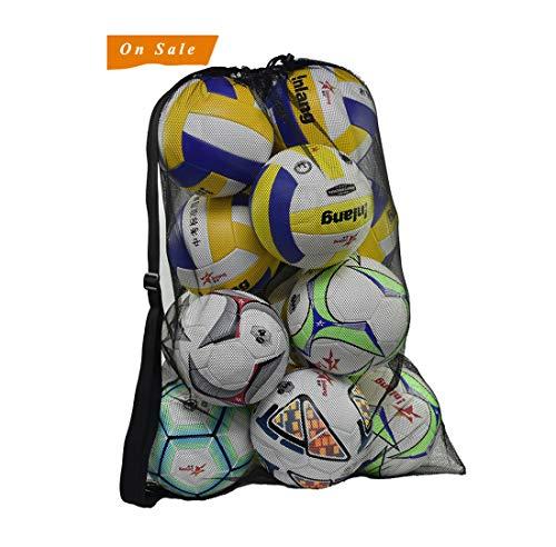 Equipo de Entrenamiento Bolsa de Hombro para Deportes al Aire Libre SGMY Bolsa de Baloncesto port/átil para Transportar balones de Voleibol de f/útbol Bolsa de Almacenamiento