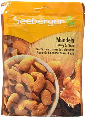 Seeberger Blanchierte Mandeln Honig & Salz, 13er Pack (13 x 80 g)