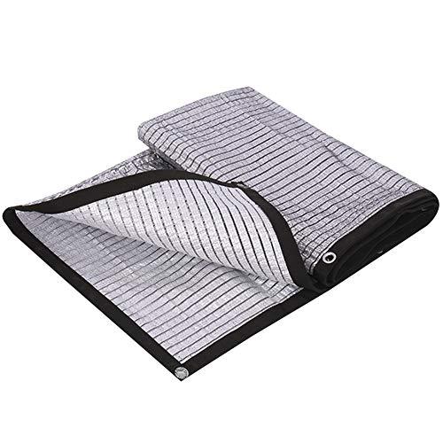 Pantalla de tela de sombreado neto del papel de aluminio a prueba de agua Protector solar hidratante Flores pérgola cubierta del coche a prueba de polvo, 21 Tamaños, personalizable Respetuoso del medi