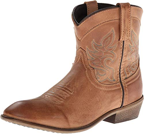 Dingo Women's Willie Western Boot, Antique Tan, 7.5 M US