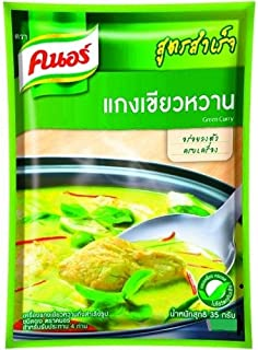 Knorr Complete Recipe Mix Green Curry 35g NEW SEALED Thai Food Thailand Food Product of Thailand