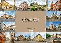 Goerlitz Impressionen (Wandkalender 2022 DIN A2 quer): Traumstadt im oestlichen Deutschland (Monatskalender, 14 Seiten )