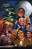 Mark Spears Kunstdruck, signiert von Battlestar Galactica,