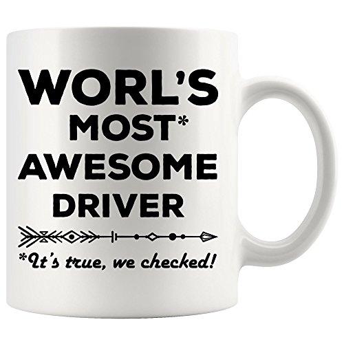 World Most Awesome Driver Mug