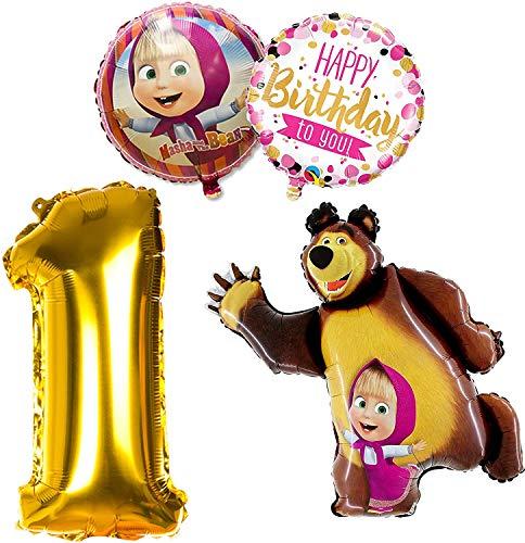 Masha y el Oso Luftballons, 1. Jahr, 4...
