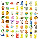 Ranvi 30PCS Animal Erasers for Kids, Mini Puzzle Pencil Erasers Set for Kids Games Prizes Party Favors Carnivals and School Supplies